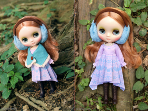Parson Grace Middie Blythe Doll