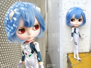 Rei Ayanami Blythe Doll