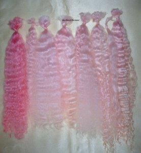 Sue Coyle pink mohair
