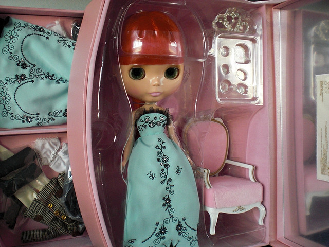 Cinema Princess stock - Photo by Emily Dolls on Flickr